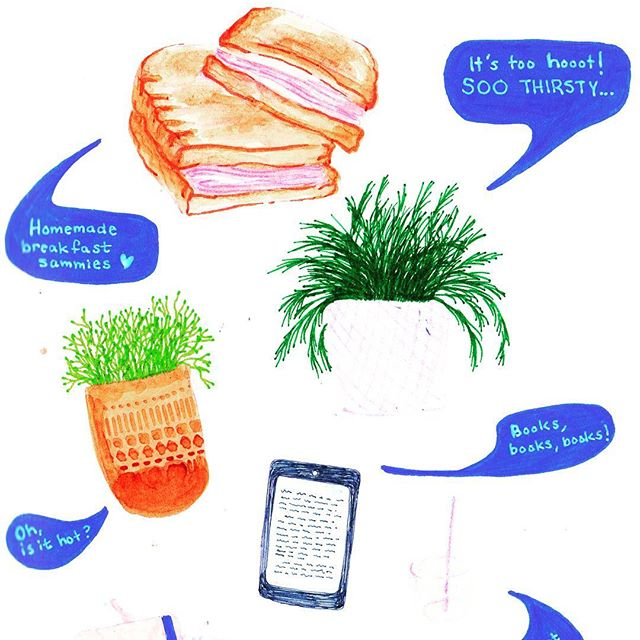 Fresh baked bread is the best for breakfast sandwiches 🤤🤤 . . . . . . . . . #illustration #copic #illustrator #illustratorsoninstagram #sketchbook #leuchtturm1917 #sketchoftheday #drawing #plant #pastel #illustrationoftheday #doodles #illustratorsofinstagram #drawings #artistsoninstagram #sketchoftheday #artistsofinstagram  #illustrations #instaillustration #instagood #instaartist #sketch #drawings #muji #copicmarkers #doodle #dailydrawing #breakfast #planter #succulents