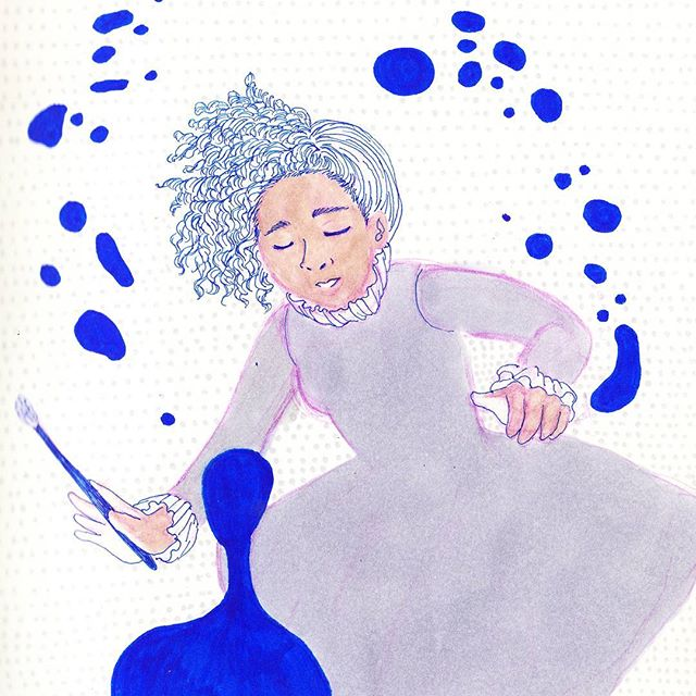 Bubbles, bubbles!! . . . . . . . . #illustration #copic #illustrator #illustratorsoninstagram #sketchbook #leuchtturm1917 #sketchoftheday #drawing #winter #pastel #illustrationoftheday #doodles #illustratorsofinstagram #drawings #artistsoninstagram #sketchoftheday #artistsofinstagram  #illustrations #instaillustration #instagood #instaartist #sketch #drawings #muji #copicmarkers #doodle #dailydrawing