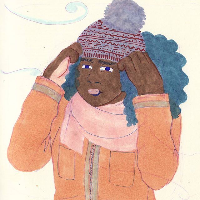 Braced for the cold. 🤷🏾‍♂️ Can I least get 2 feet of snow for this? . . . . . . . . #illustration #copic #illustrator #illustratorsoninstagram #sketchbook #leuchtturm1917 #sketchoftheday #drawing #winter #sharpie #illustrationoftheday #doodles #illustratorsofinstagram #drawings #artistsoninstagram #sketchoftheday #artistsofinstagram  #illustrations #instaillustration #instagood #instaartist #sketch #drawings #muji #copicmarkers #doodle #dailydrawing