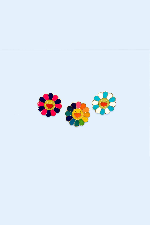 445ea102a Murakami Flower Enamel Pin — Arteria