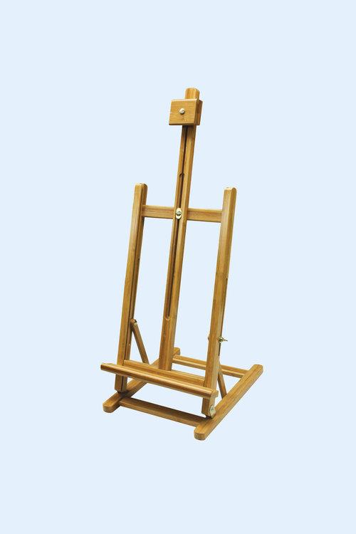 H Frame Bamboo Table Easel — Arteria