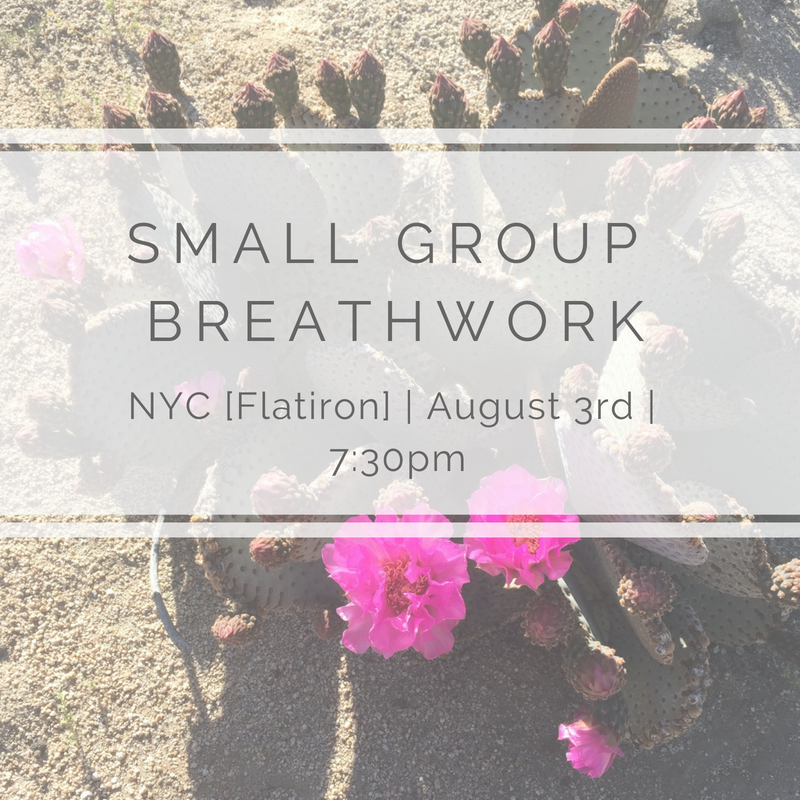 - When: Friday, August 3rd, 7:30-9:00pmWhere: NYC [Flatiron - exact address provided upon signing up]Exchange: $50[First time working with me? Enter code FIRSTTIME at check out for 40% off!]