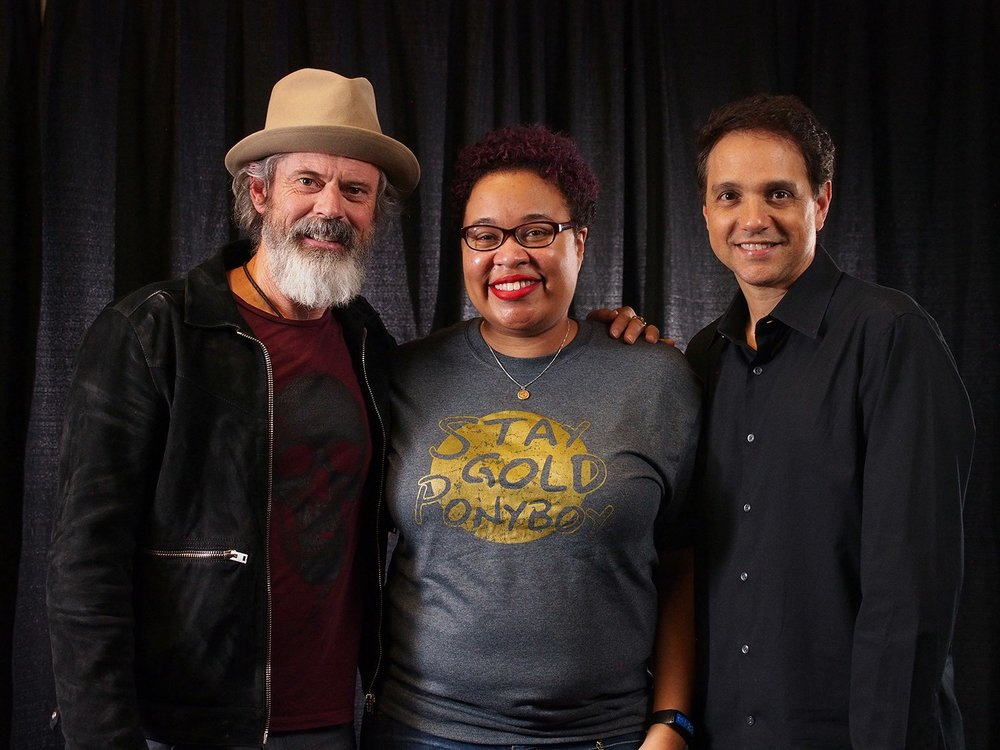 With C. Thomas Howell and Ralph Macchio