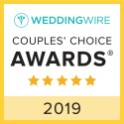 Wedding Wire Couples' Choice Award 2019