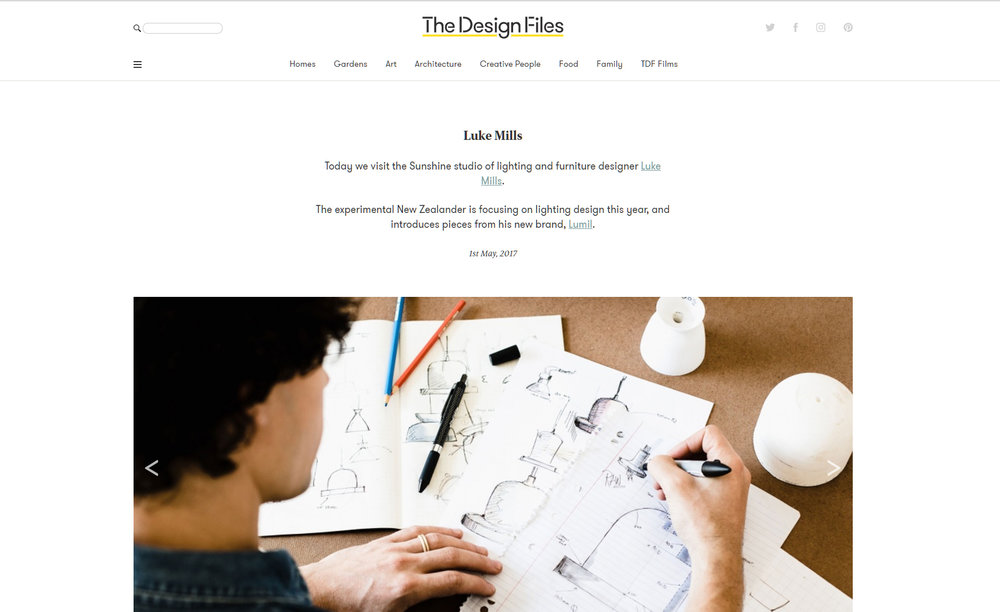 THE DESIGN FILES, May 2017