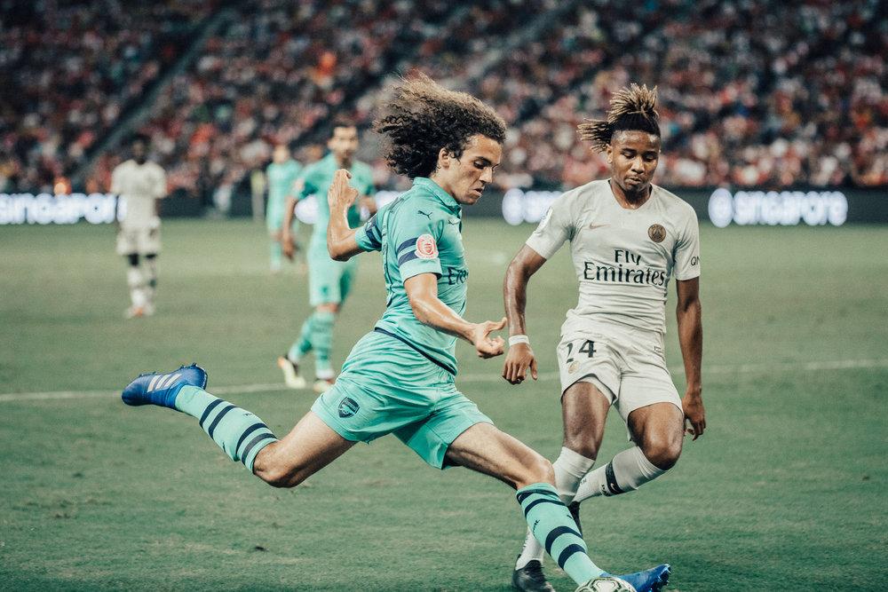 ICC 2018: PSG VS ARSENAL (MATTEO GUENDOUZI)