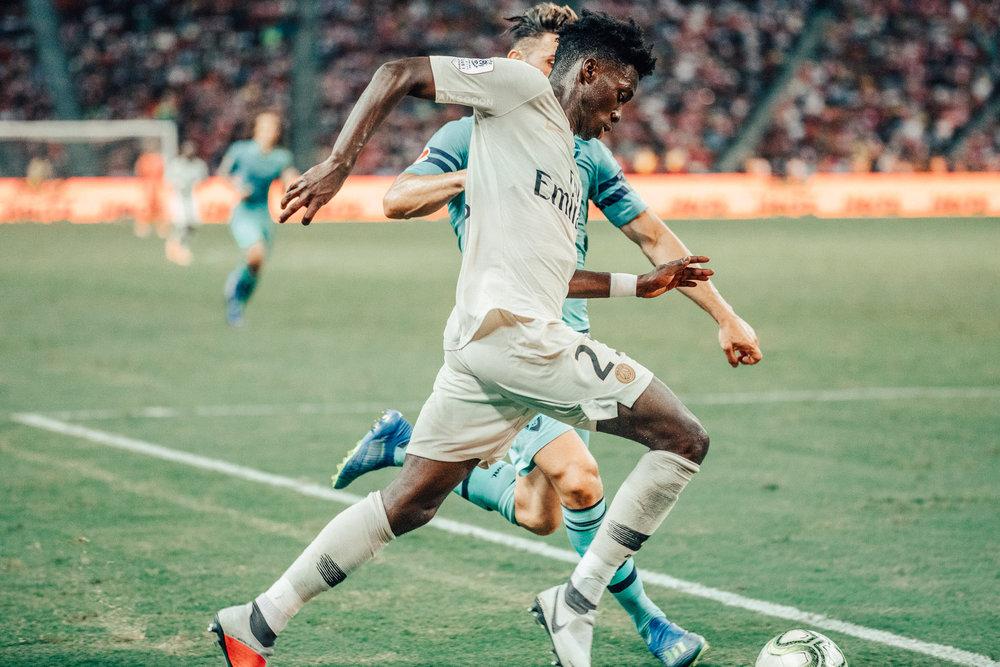 ICC 2018: PSG VS ARSENAL (TIMOTHY WEAH)