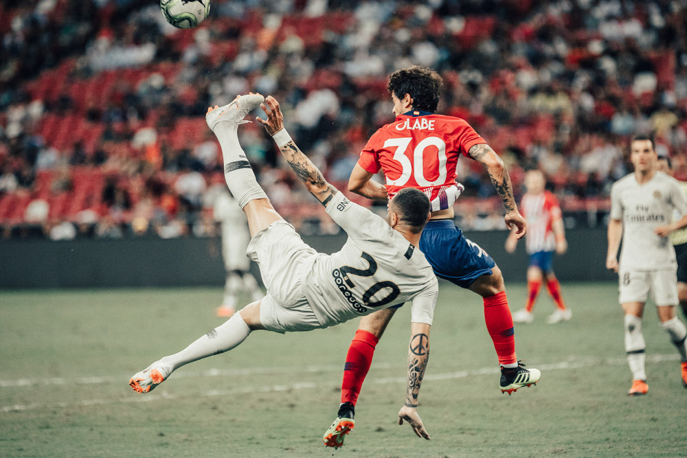 ICC 2018: PSG VS ATLETICO (LAYVIN KURZAWA)
