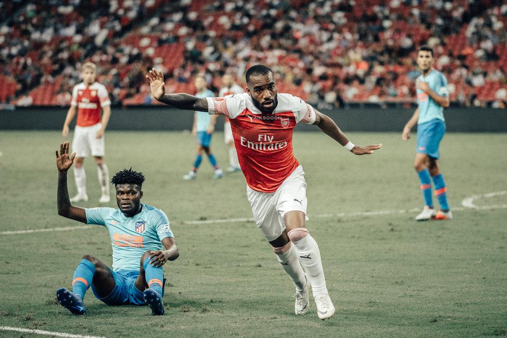 ICC 2018: ARSENAL VS ATLETICO (LACAZETTE)