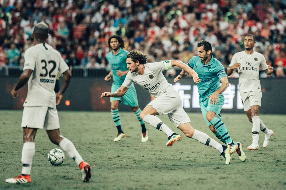 ICC 2018: PSG VS ARSENAL (ADRIEN RABIOT)