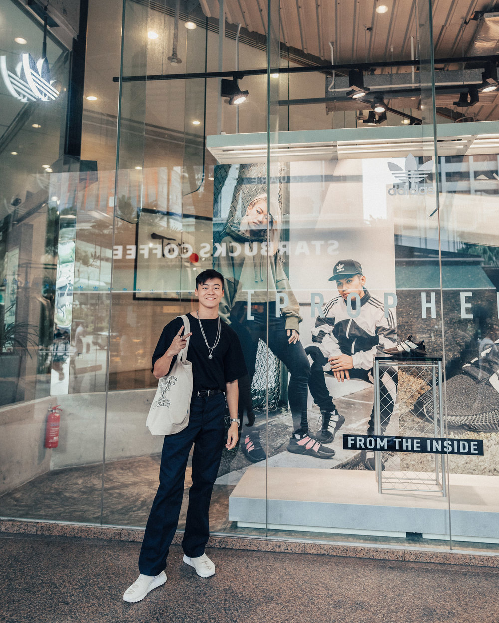 adidas Originals - My photographs being displayed at all adidas Originals store island-wide (Singapore).