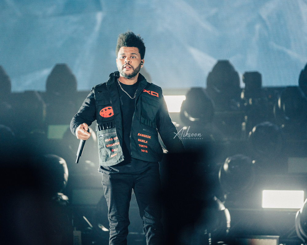 THE WEEKND ASIA TOUR