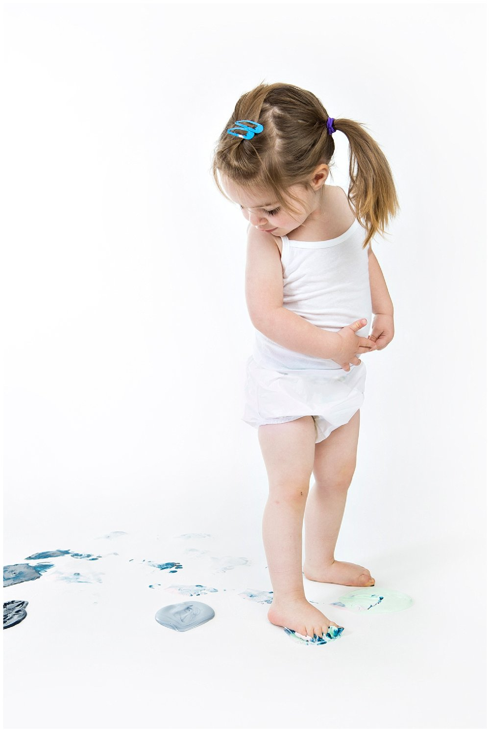 Denver childrens photographer paint sessions