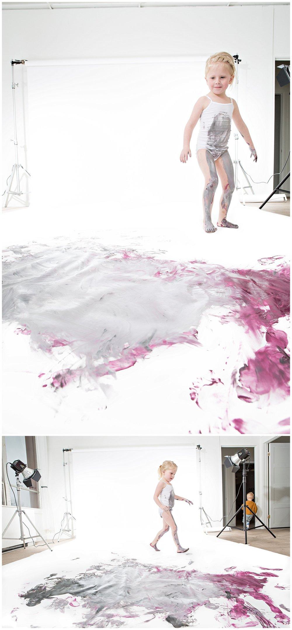 denver childrens photographer paint session