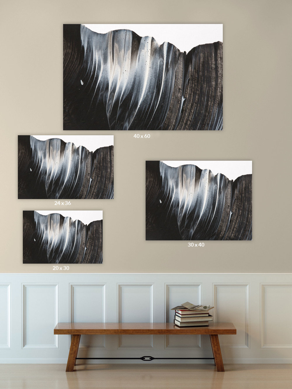 Denver- Boulder-childrens-photographer-paint-sessions-abstract-art-black-and-white-size-sheet