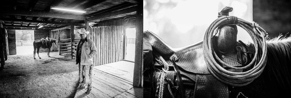 Vee Bar Dude Ranch Cowboy Barn Horse Saddle.jpg