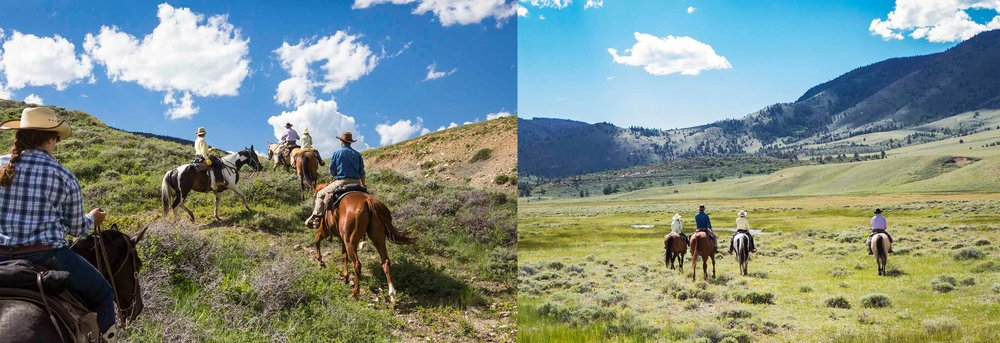 Vee Bar Dude Ranch Guests Horse Trail Riding Mountains Vacation copy.jpg