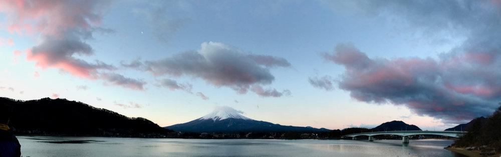 Sunrise on Fuji-san