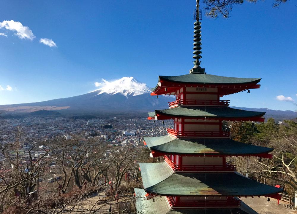 Fuji-san & the Churieto Pagoda
