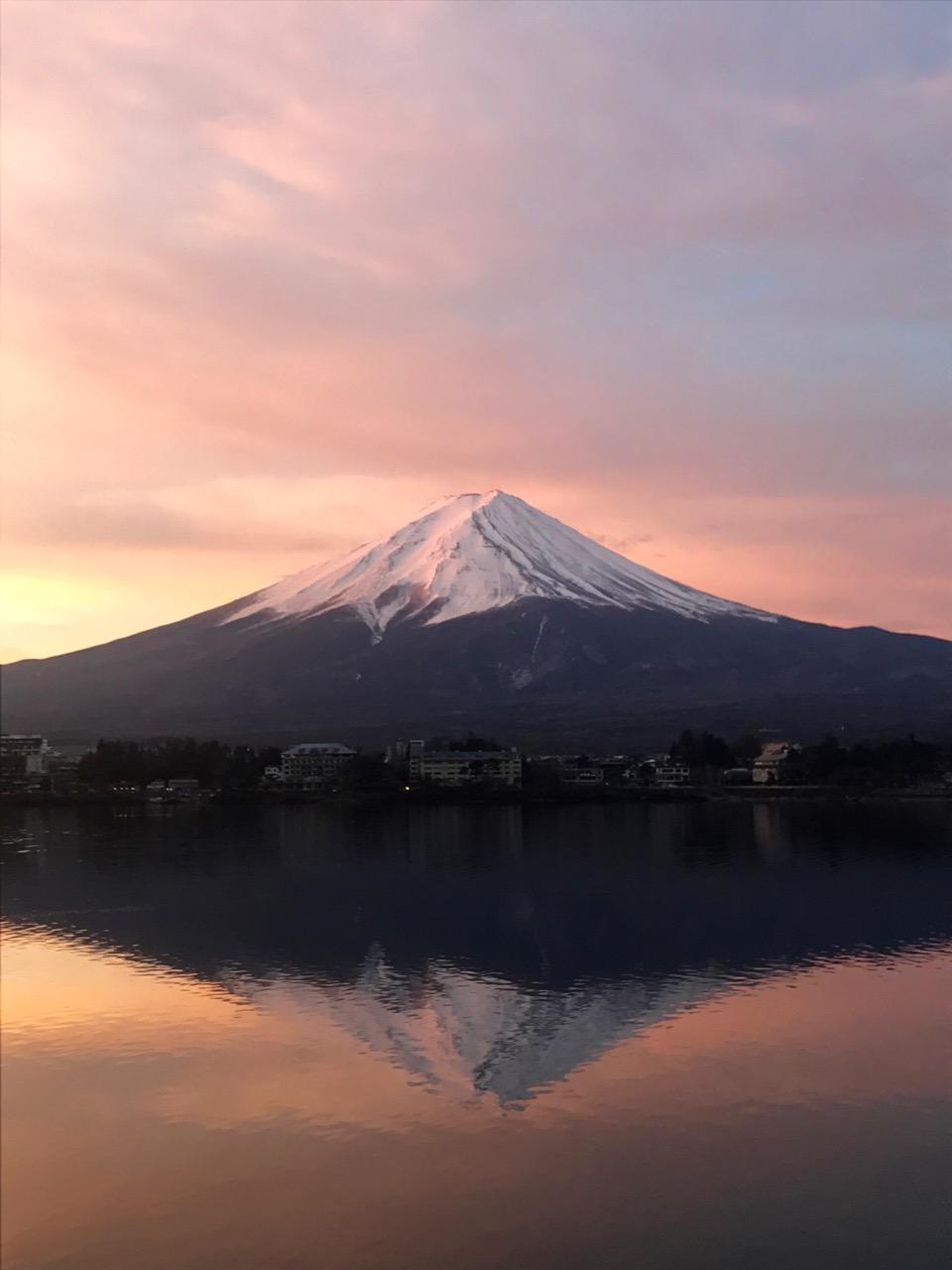 Fuji-san at sunrise