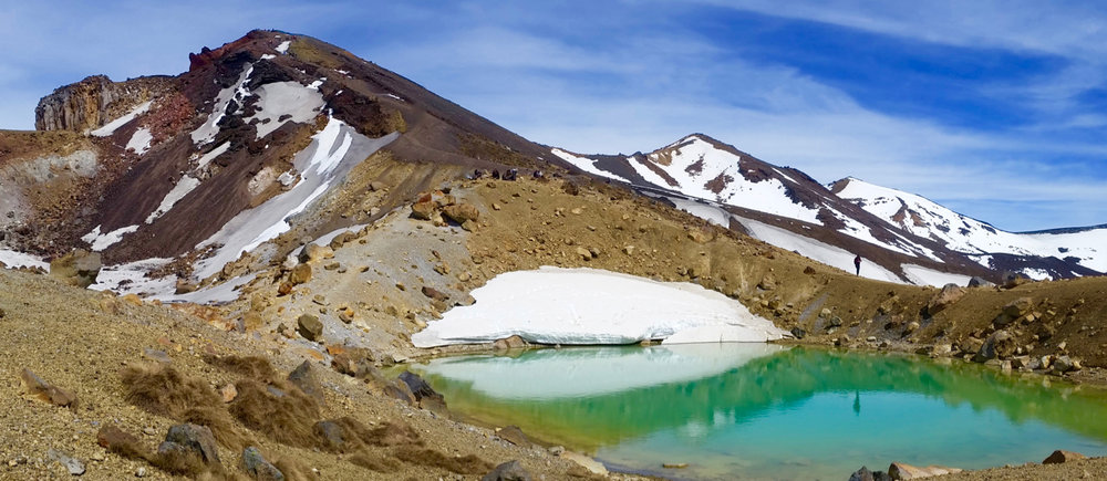 Red Crater from the Emerald Lakes