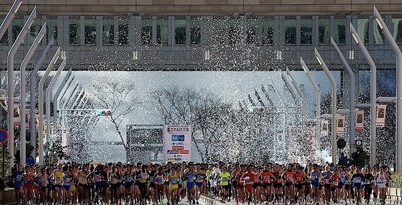 Image from the Tokyo Marathon Foundation, used with permission.
