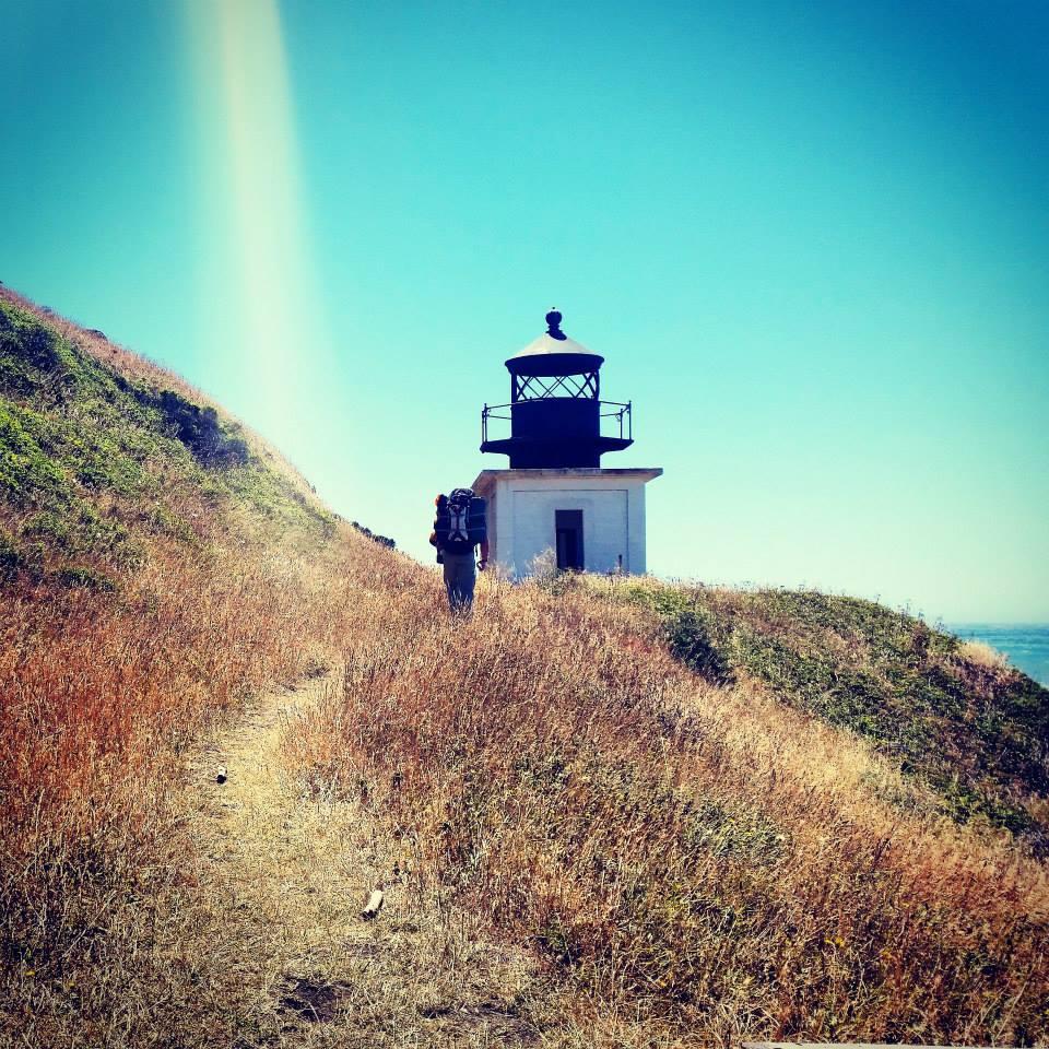 Punta Gorda Lighthouse, Lost Coast Trail, California