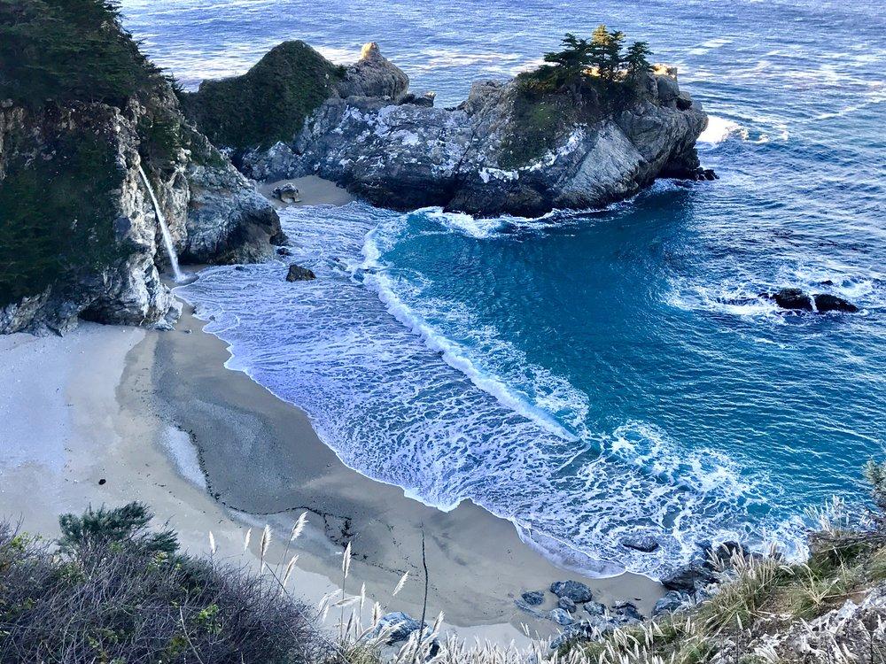 Blue hour at McWay Falls, Julia Pfieffer Burns State Park, Big Sur, California