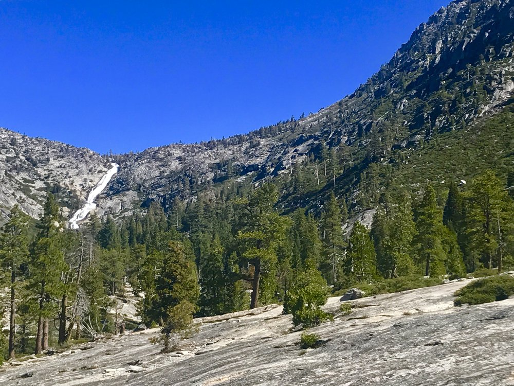Horsetail Falls, Desolation Wilderness, Eldorado National Forest, California