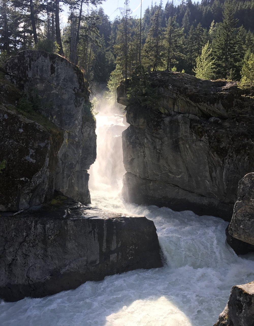 Nairn Falls, Pemberton, British Columbia, Canada