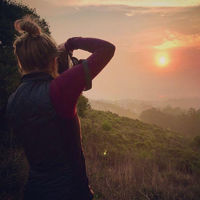 Sunrises & sunsets, mountains & oceans
