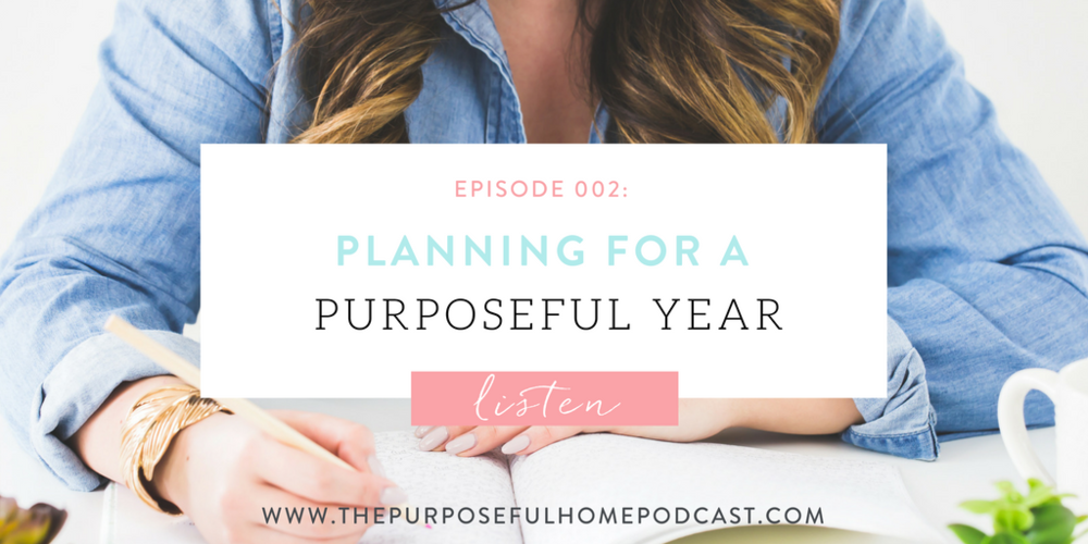 Planning for a Purposeful Year