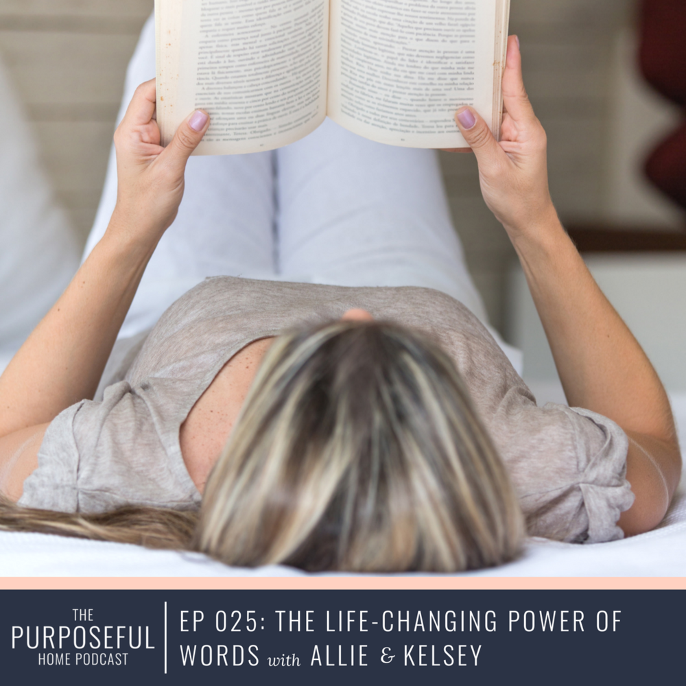 Episode 025: The Life-Changing Power of Words