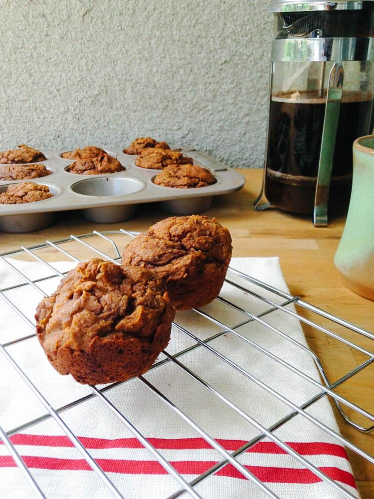 Paleo Chai Pumpkin Muffins by Worthy Pause