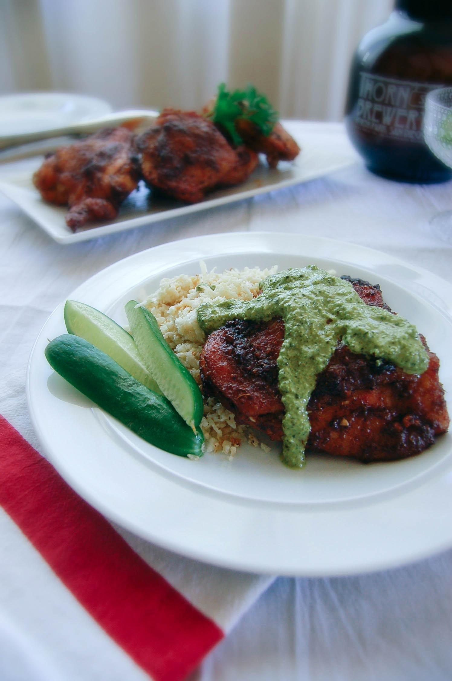 Peruvian Chicken with Aji Criollo-1