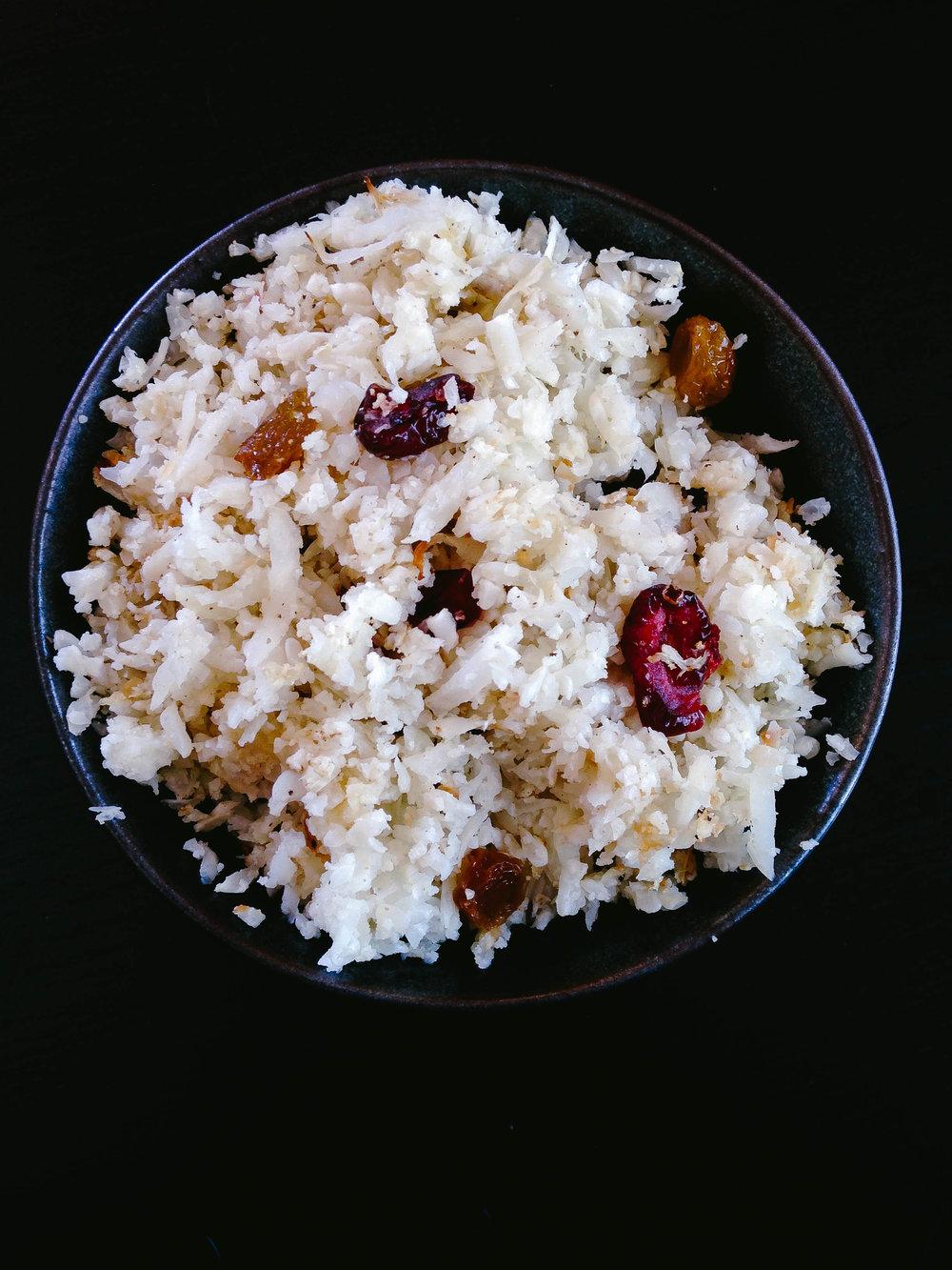 Mangalorean Cauliflower Rice Pulao via Worthy Pause