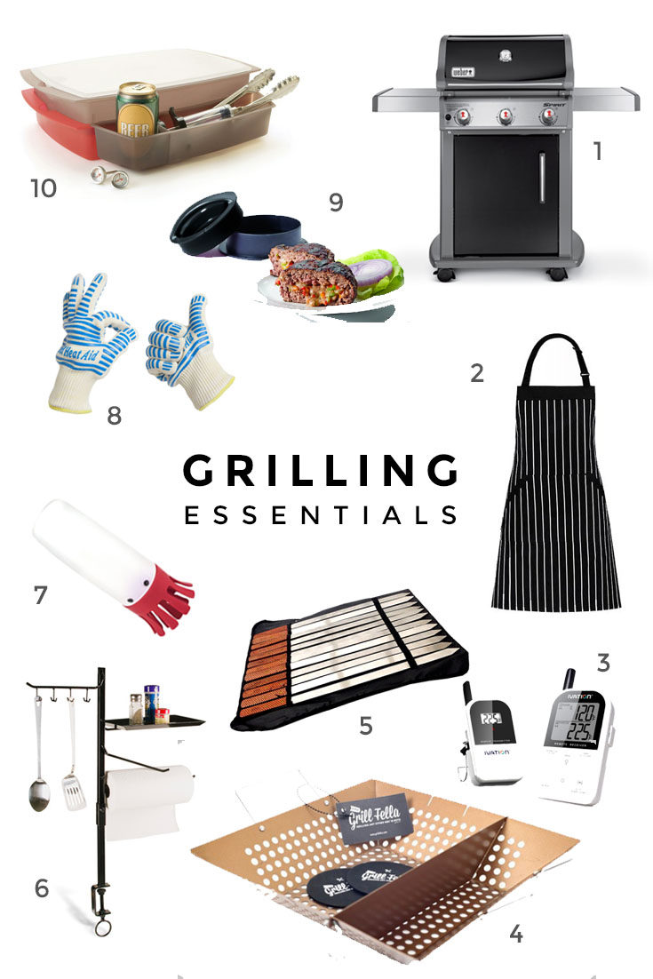 10 Essential Grilling Gadgets via Worthy Pause