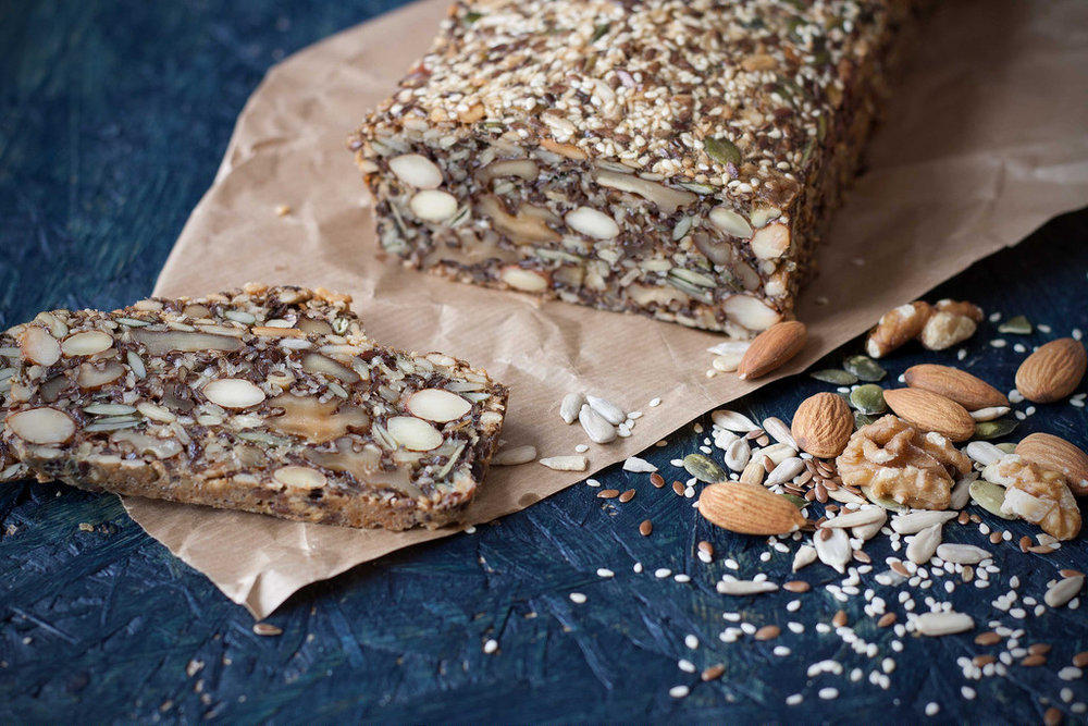 Paleo Stone Age Seed Bread