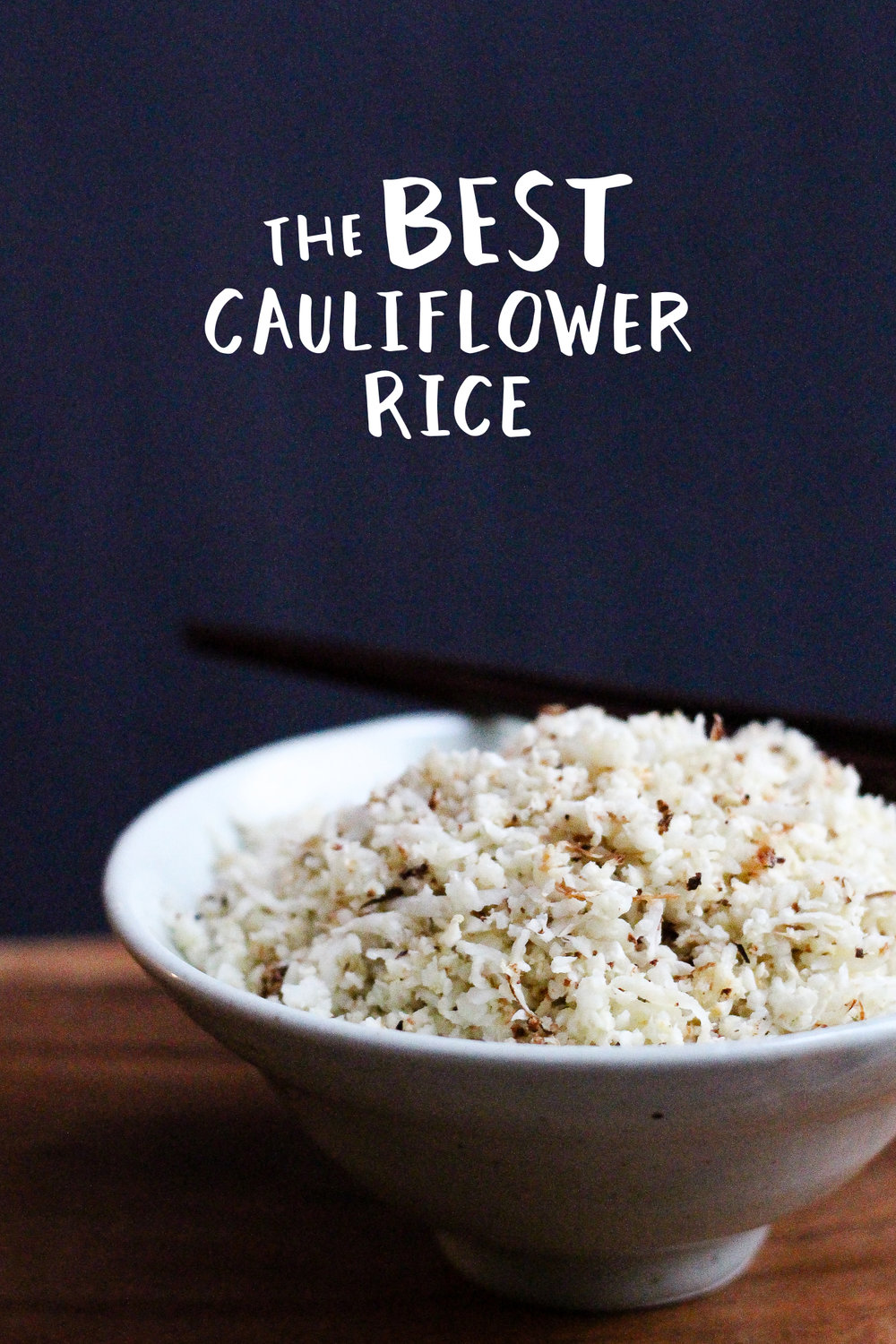 Paleo Cauliflower Rice Recipe via Worthy Pause