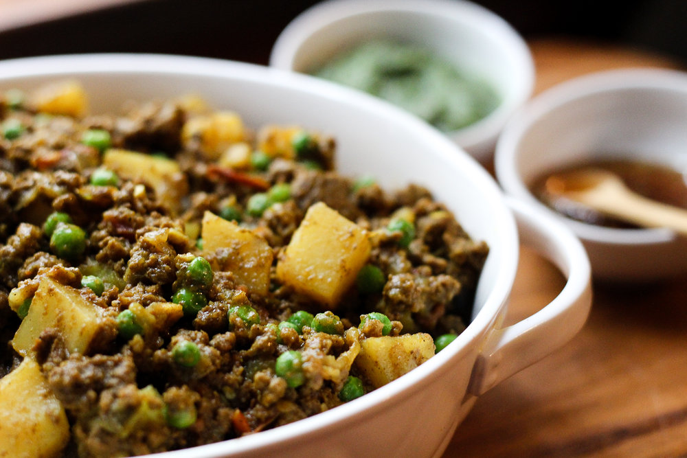 Keema Recipe via Worthy Pause