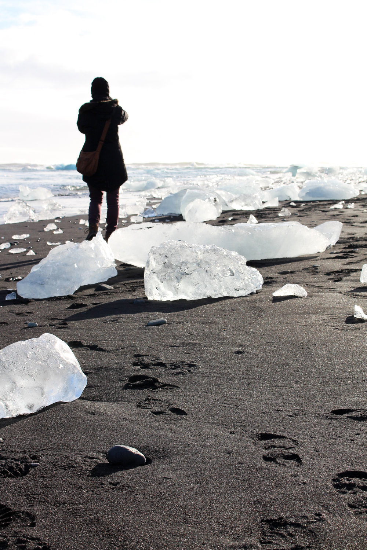 Jökulsárlón, Iceland via Worthy Pause