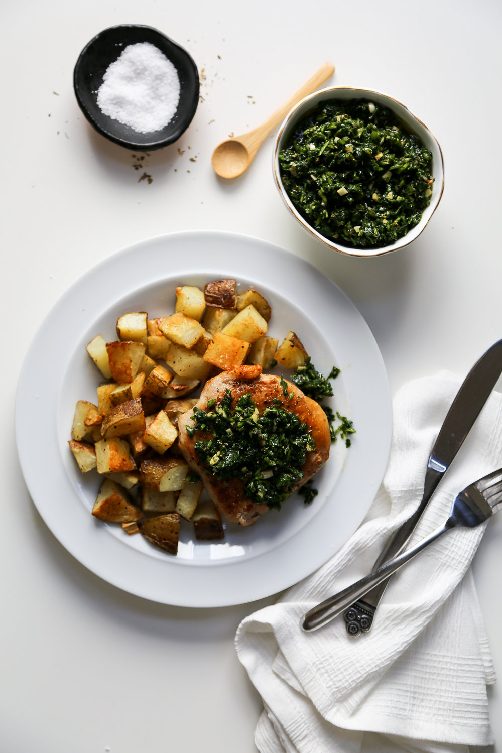 Chimichurri Recipe via Worthy Pause