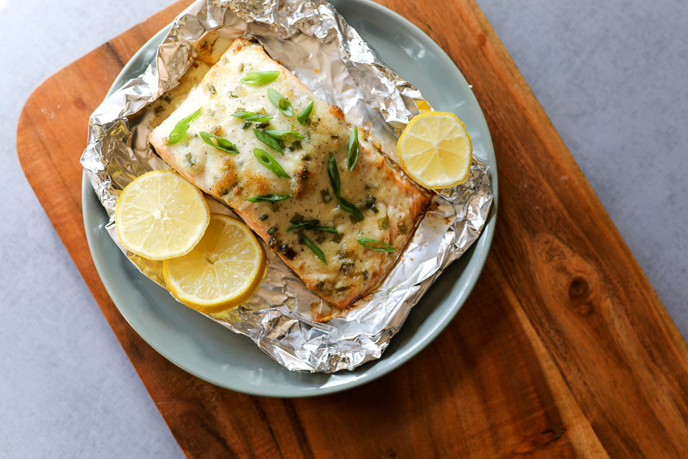 Easy Paleo Baked Salmon Recipe via Worthy Pause