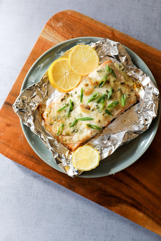 Easy Paleo Baked Salmon Recipe via Worthy Pause