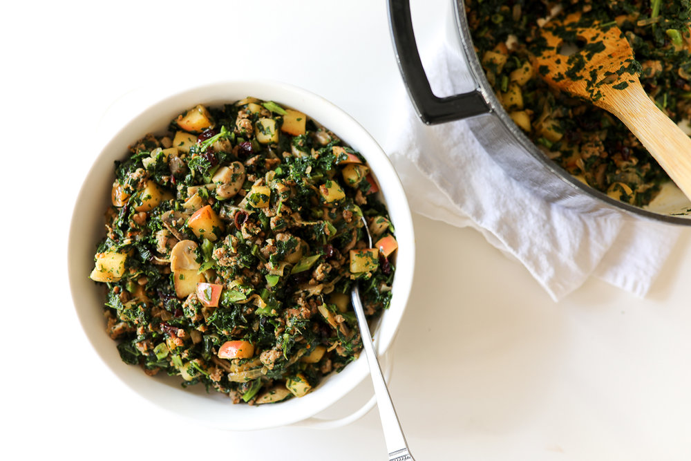 Thanksgiving-In-Your-Mouth Paleo Stuffing Recipe via Worthy Pause