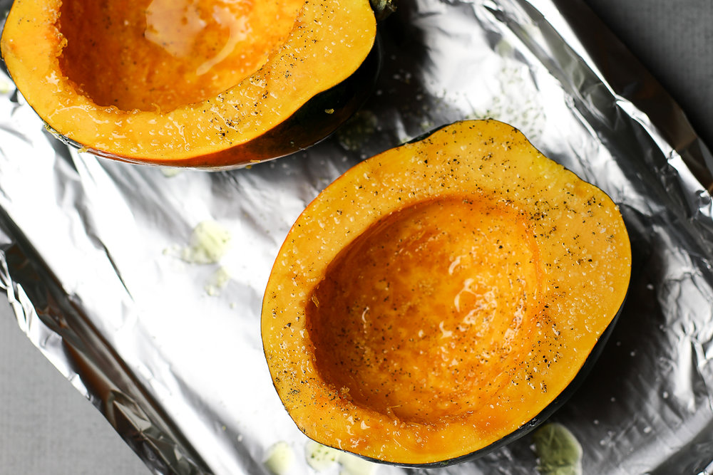 How to Bake Acorn Squash in the Oven via Worthy Pause