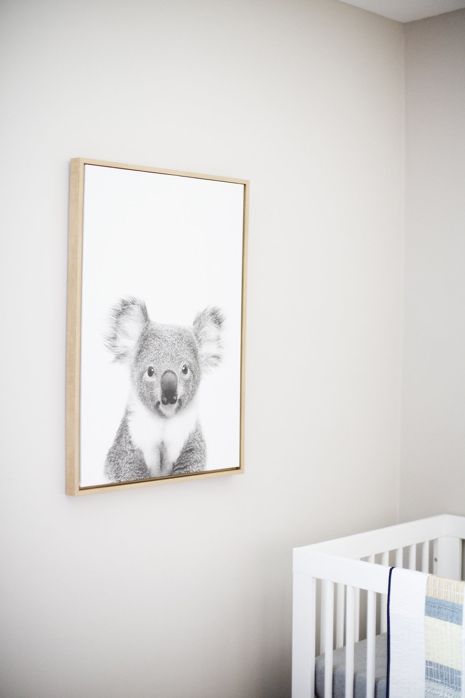 Mr. Koala, watching over Nilou's crib. | photo by Eliesa Johnson