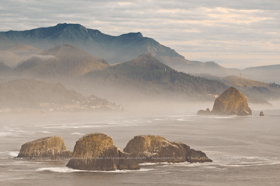 Cannon Beach from Ecola State Park, Oregon Coast