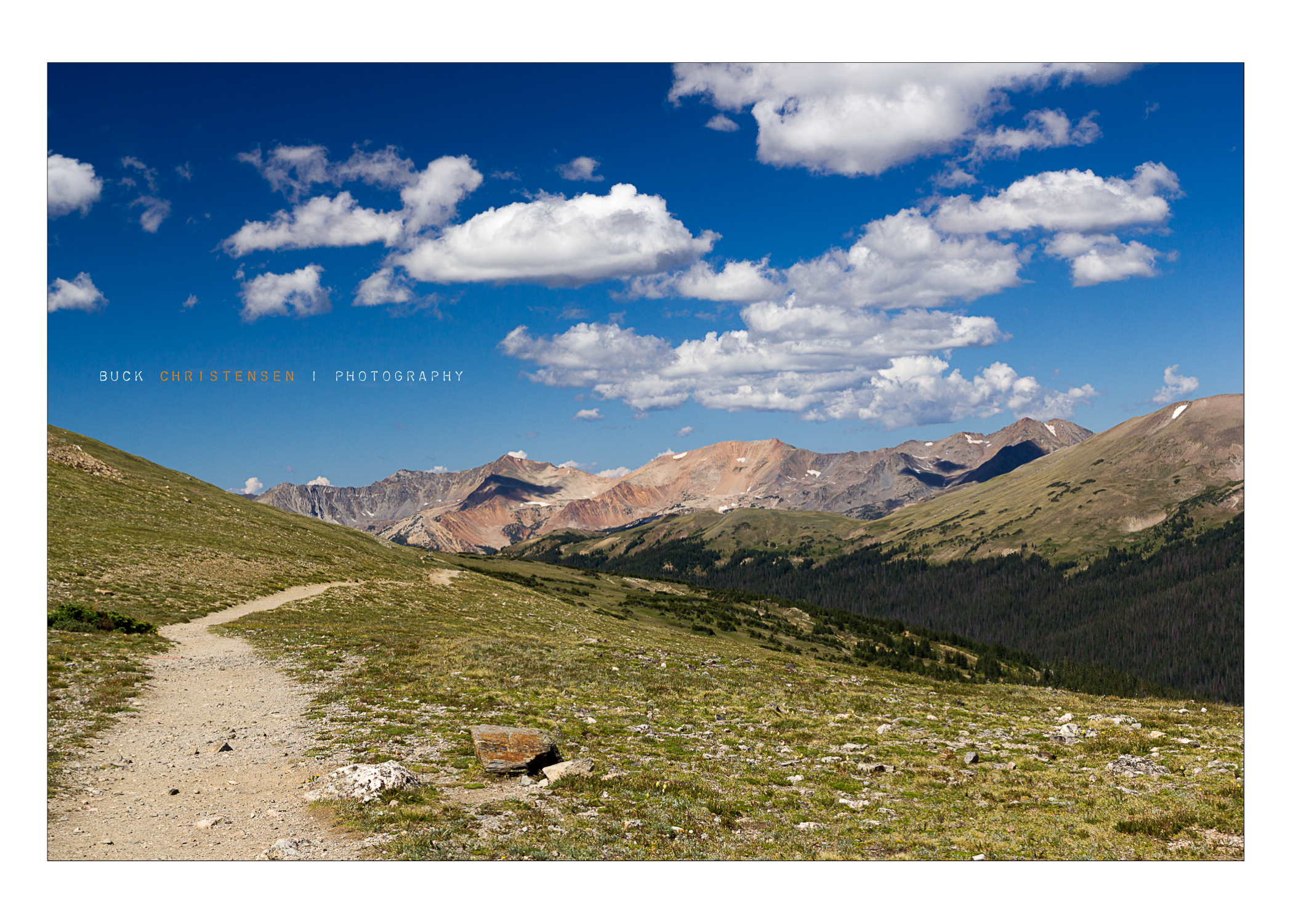 Ute Trail, Rocky Mountain National Park, Colorado