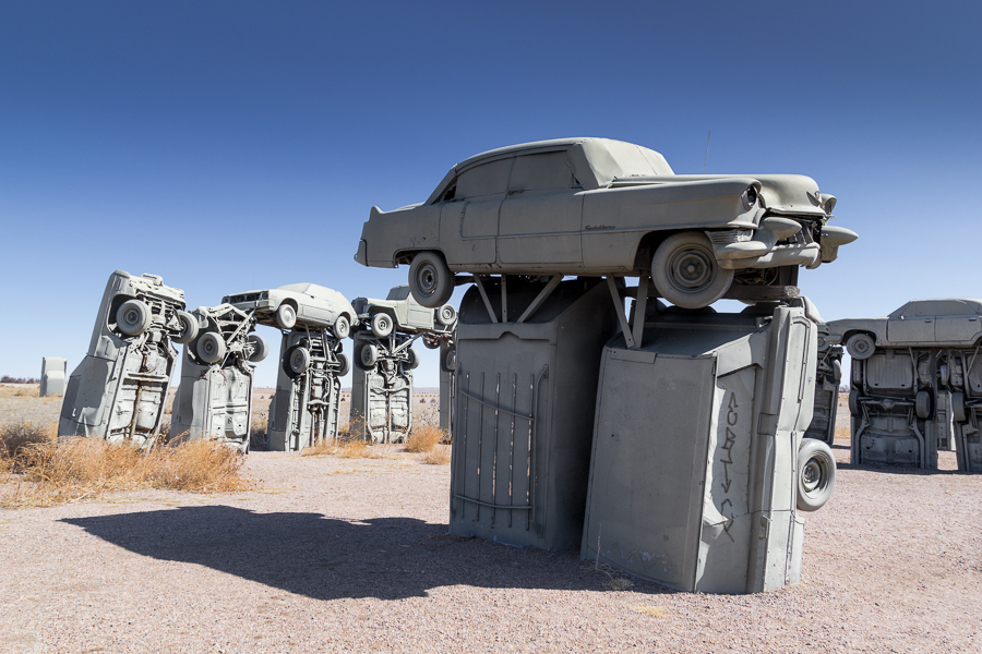 'rust and relaxation', Carhenge, Alliance, Nebraska